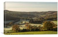 Esk Valley, north yorkshire, Canvas Print