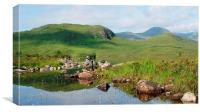 scenic scotland, Canvas Print