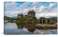 Scottish castle , Canvas Print