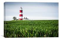 Happisburgh Lighthouse, Canvas Print