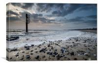 Tide rush, Canvas Print