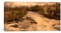 Linton Falls , Canvas Print