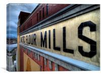 Baltic Flour Mills, Canvas Print