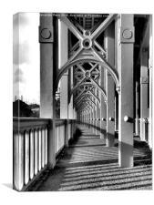 High Level Bridge, Canvas Print