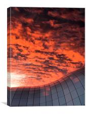 Sage Sunset, Canvas Print