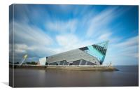 The Deep Hull, Canvas Print