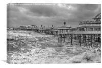 The North Pier, Canvas Print