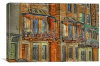 Clifton Terraced Houses, Canvas Print