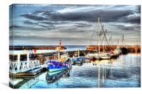 Watchet Harbour, Canvas Print