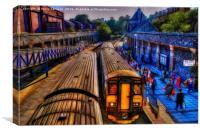 Clifton Station, Canvas Print
