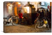 Marrakech Take-Away , Canvas Print
