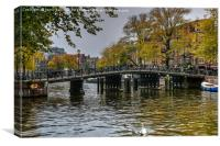 Amsterdam Autumn, Canvas Print