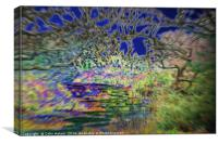 Psychedelic Walk, Canvas Print