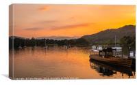 Ambleside Sunset, Canvas Print
