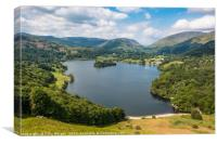 Grasmere from Loughrigg Fell, Canvas Print