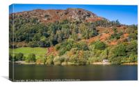 Rydal Water Boathouse, Lake District, Canvas Print