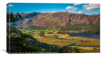 Catbells from Suprise View, Canvas Print