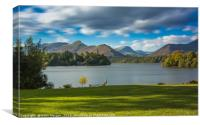 Derwent Water and Catbells View, Canvas Print