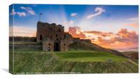 Tynemouth Priory Sunrise, Canvas Print