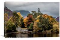 Derwent Isle in the Autumn, Canvas Print
