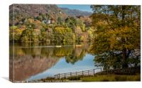 Boating on Grasmere, Canvas Print