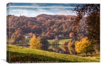 Grasmere Autumn Colours, Canvas Print