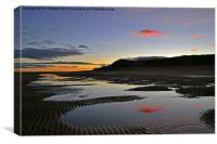 Aberdeenshire Sunset, Canvas Print