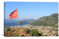 Icmeler,Turkey, Canvas Print