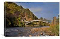 Craigellachie.Bridge, Canvas Print