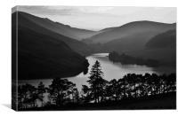 Glencorse Reservoir, Canvas Print