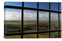 Through the Window, Canvas Print