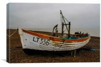 Fishing Boat, Canvas Print