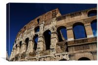 Colosseum Blue, Canvas Print