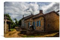Maison Dordogne, Canvas Print