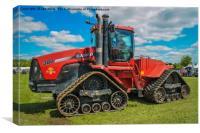 Case Quadtrac Tractor, Canvas Print