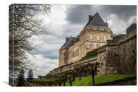 Hautefort Chateau, Canvas Print