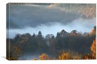Wye Valley Mist, Canvas Print