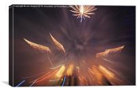 The Flight of the Phoenix , Canvas Print