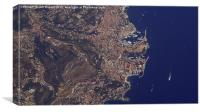 Monaco , Canvas Print