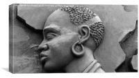 African Queen , Canvas Print