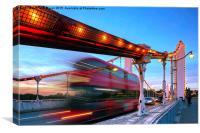 Chelsea Bridge, Canvas Print