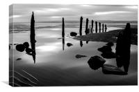 After the Ebb, Canvas Print