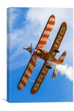 Breitling Wingwalkers Over Cosford, Canvas Print