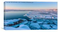 Disko Bay Sunset, Canvas Print