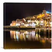 Abbey Wharf, Whitby, Canvas Print