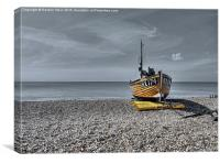 Hastings Yellow, Canvas Print