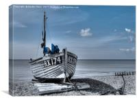 Hastings Blue, Canvas Print
