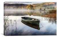Safe Haven, Loch Ard, Canvas Print