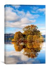 Autumn At Milarrochy Bay, Canvas Print
