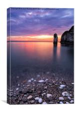 Selwicks Bay Sunrise, Flamborough, Canvas Print